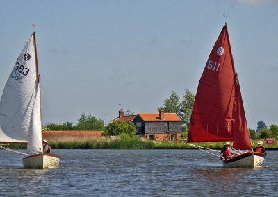 Two GRP Tideways TW383 & TW511 on River Bure