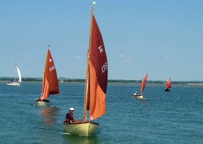 Heading for East Head, Chichester Harbour
